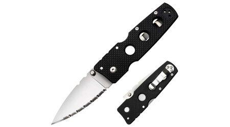 купите Нож складной Cold Steel Hold Out III Serrated Edge / 11HMS в Новосибирске