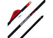 Карбоновая стрела для лука Bowmaster Patriot 340, оперение 2'' Blazer